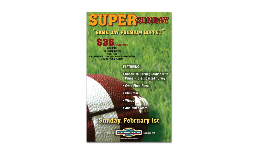 Super Sunday Poster